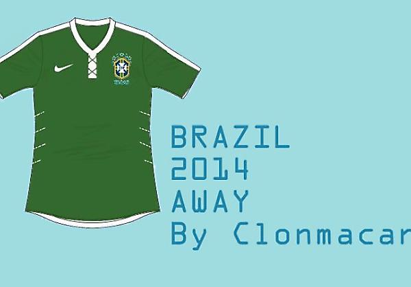 Brazil Away Concept