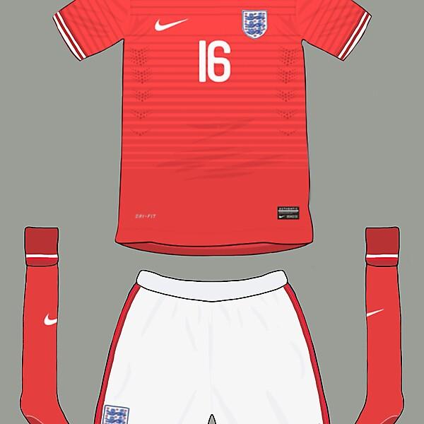 England away 2014