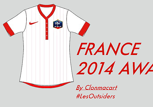 France Away Concept