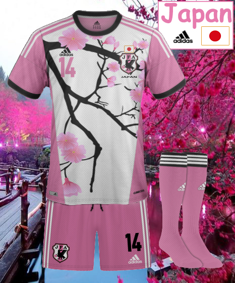 Japon Away cherry blossom pink kit