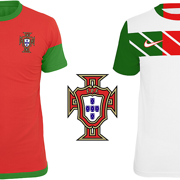 Portugal Home and Away Kit