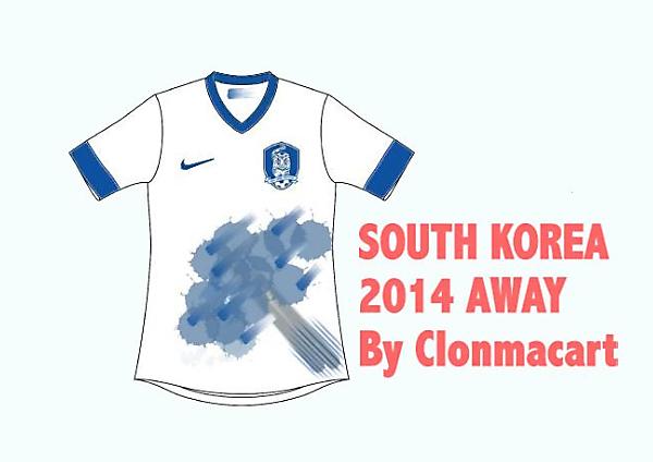 South Korea Away Concept