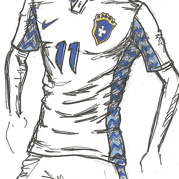 Brazil - WC14 Away