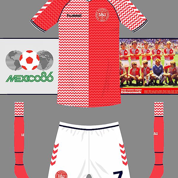 Denmark World Cup home kit
