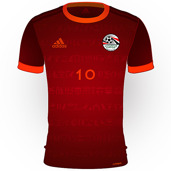 Egypt World Cup Home Kit 2018