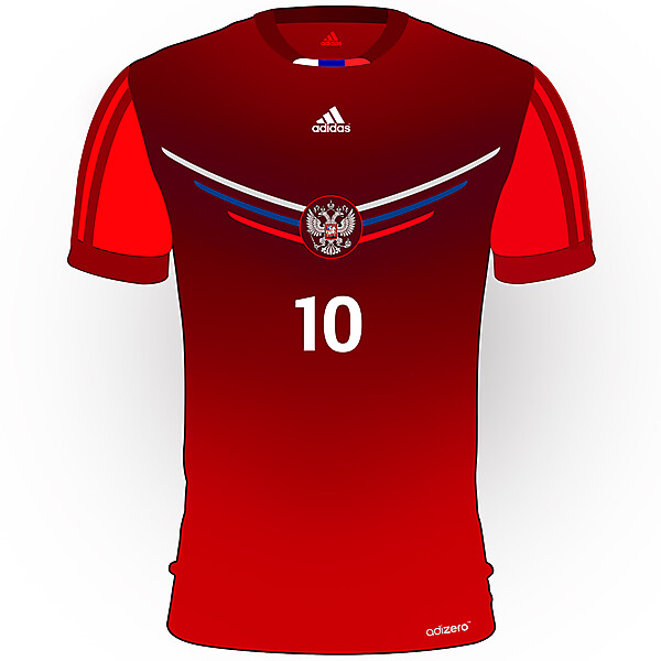 Russia World Cup Home Kit 2018