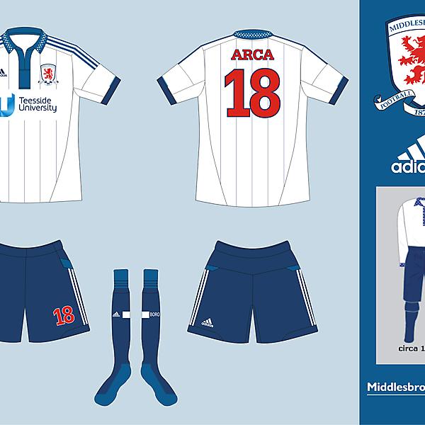 Middlesbrough FC 1889 Kit
