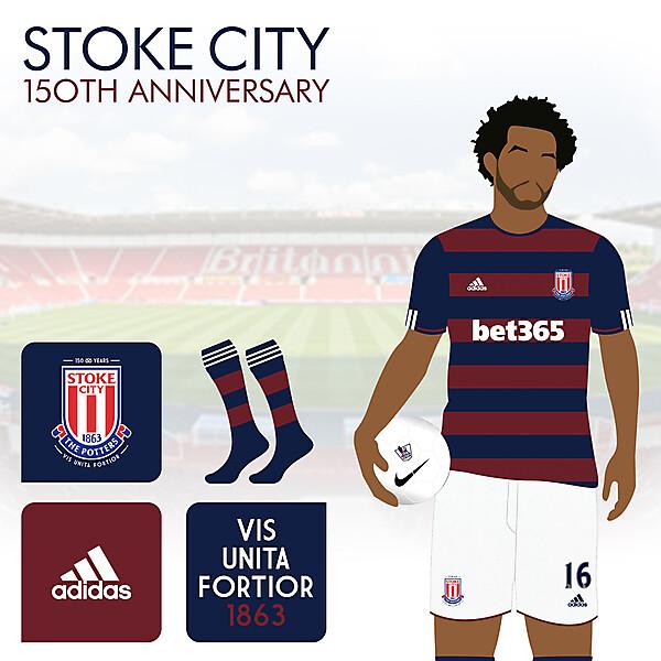 Stoke City Away - 150th Anniversary