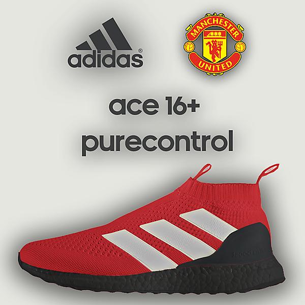 Adidas Ace 16+ Purecontrol MU Home Edition