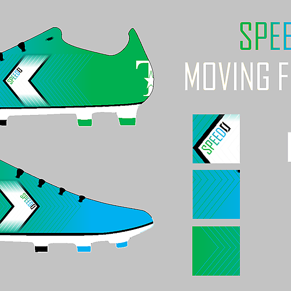 speed0 green/light blue