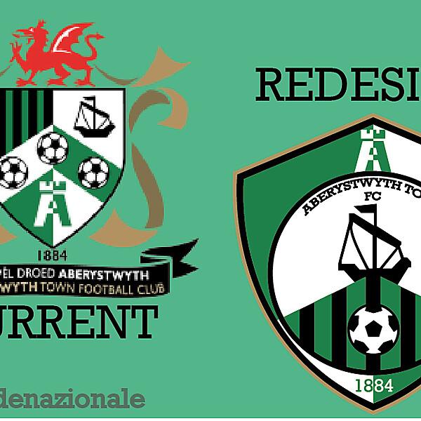 Aberystwythtown FC Redesign Crest