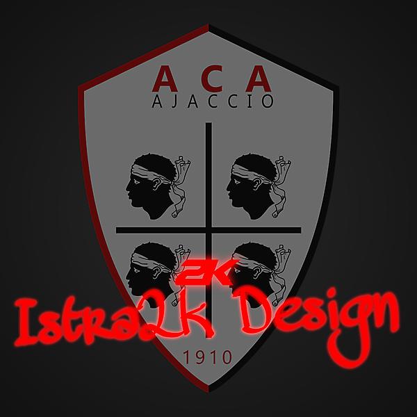 AC Ajaccio - Logo redesign + YOUTUBE VIDEO !