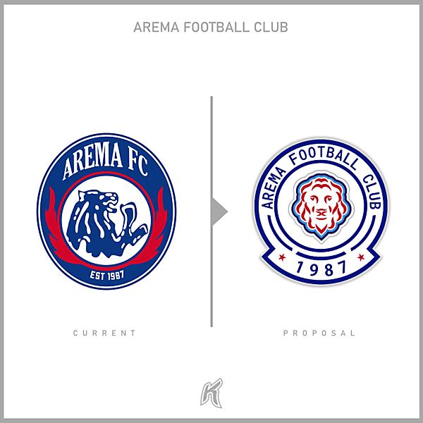 Arema FC Logo Redesign
