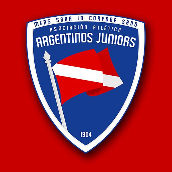 Argentinos Juniors Crest Redesign