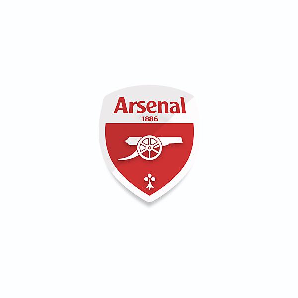 Arsenal logo redesigned v2