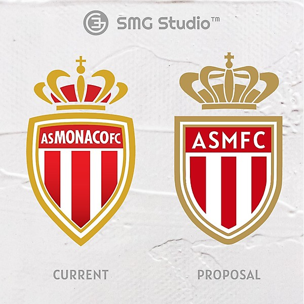 AS Monaco - Crest Redesign