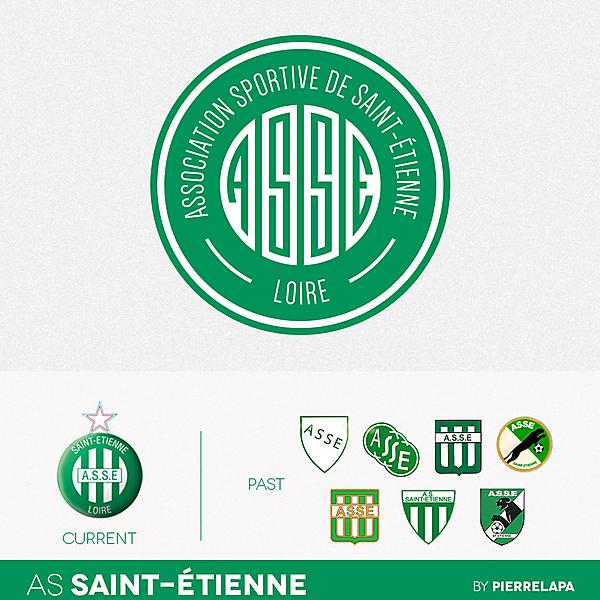 AS Saint-Étienne - Ligue 1 - redesign