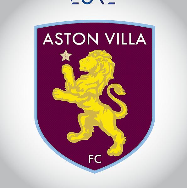 ASTON VILLA FC RESTYLING CREST