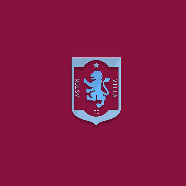 Aston Villa logo redesigned v2.