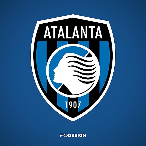 Atalanta BC   Crest Redesign