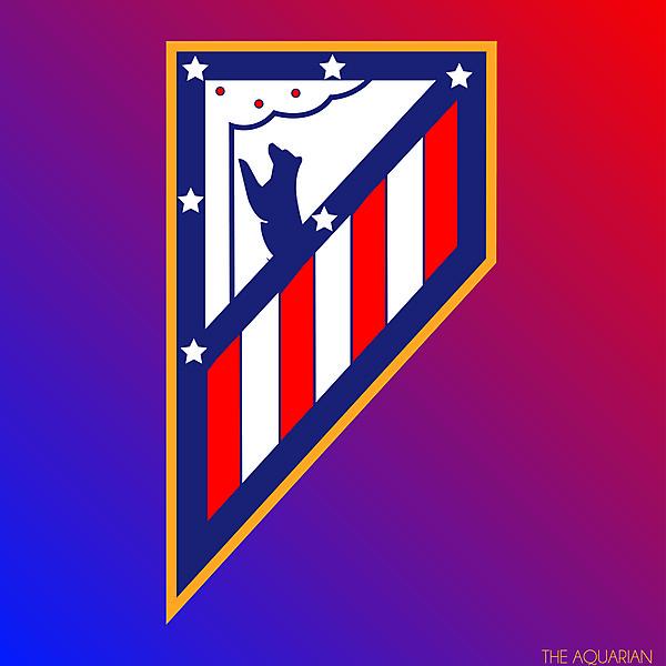 Athletico Madrid Logo Redesign