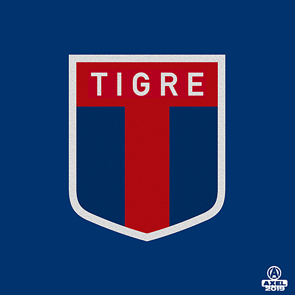 CA Tigre - crest redesign