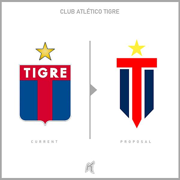 CA Tigre Logo Redesign