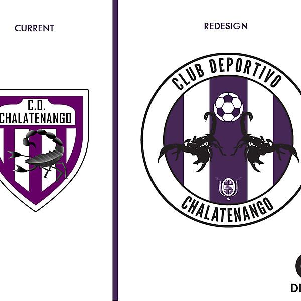 C.D. Chalatenango Crest Redesign
