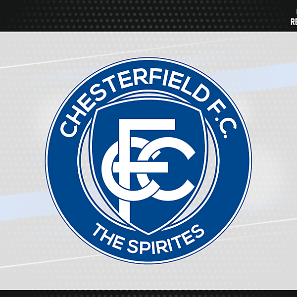 Chesterfield FC Badge version 2