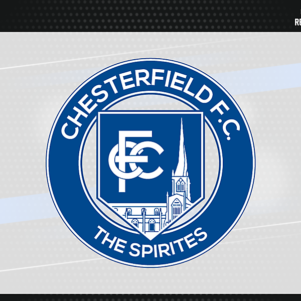 Chesterfield FC Badge version 3