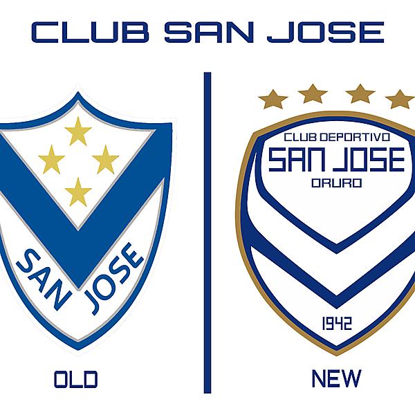 CLUB SAN JOSE REBRAND