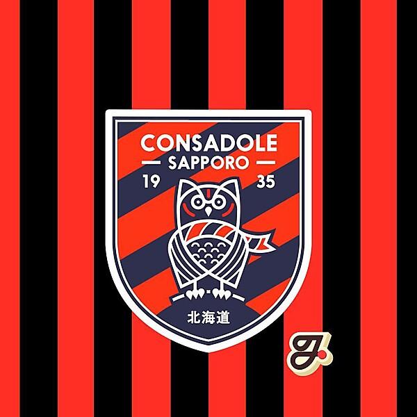 Consadole Sapporo Rebrand