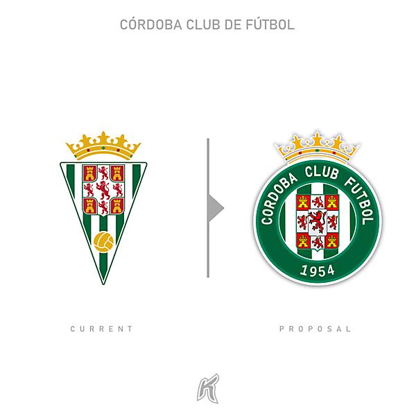 Córdoba CF Logo Redesign