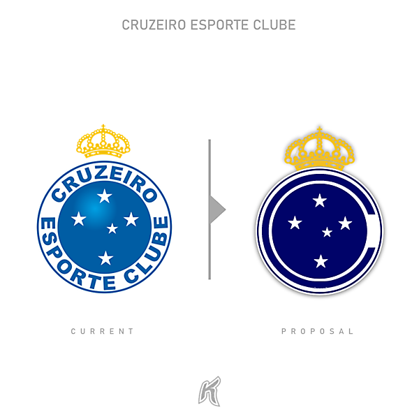 Cruzeiro EC Logo Redesign