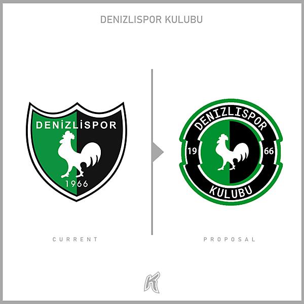 Denizlispor Kulubu Logo Redesign