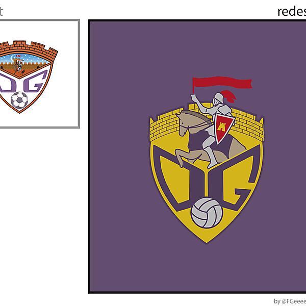 DEPOR GUADALAJARA new crest