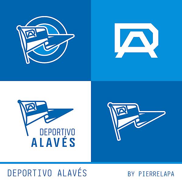 Deportivo Alavés - redesign - Secondary Logos
