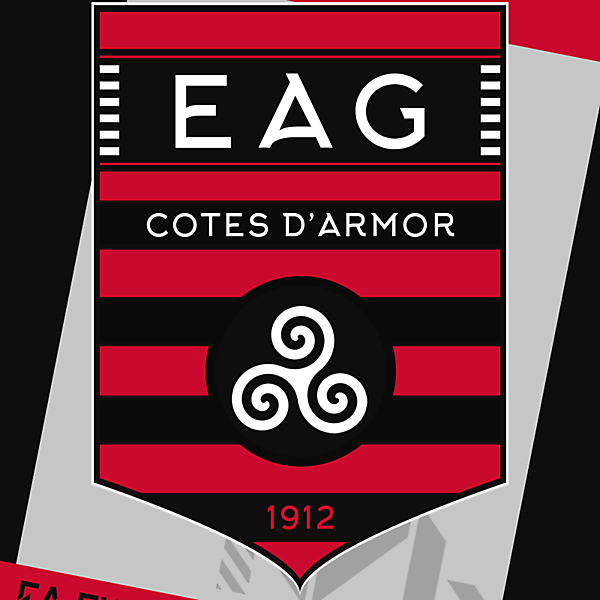 EA Guingamp Rebrand