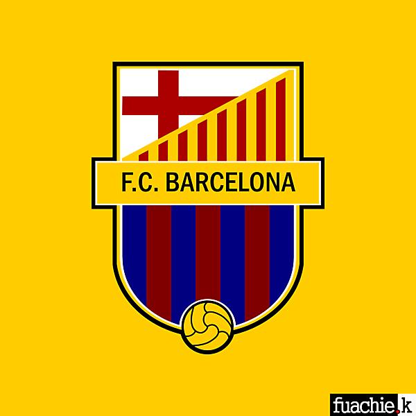 F.C. Barcelona Crest Redesign