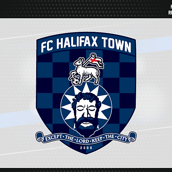 FC Halifax Town Crest Version 1