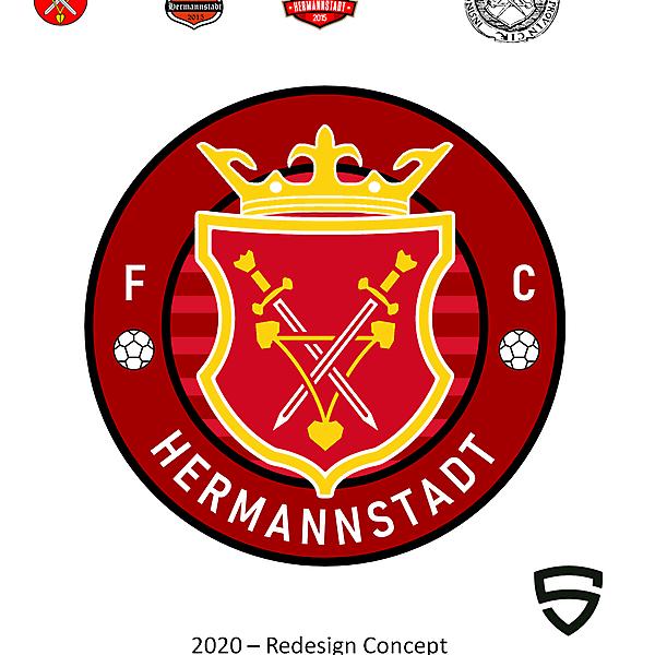 FC Hermannstadt - Sibiu (Redesign Concept)