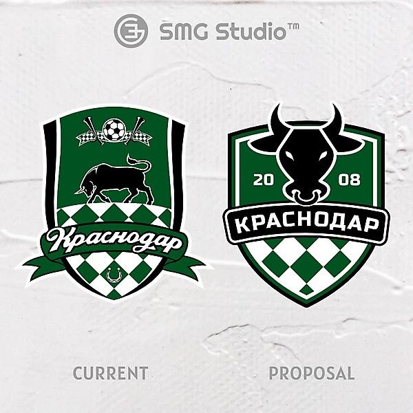 FC Krasnodar - Crest Redesign