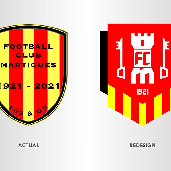 FC Martigues Crest Redesign