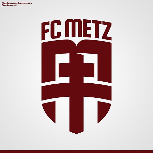 FC Metz   Crest Redesign