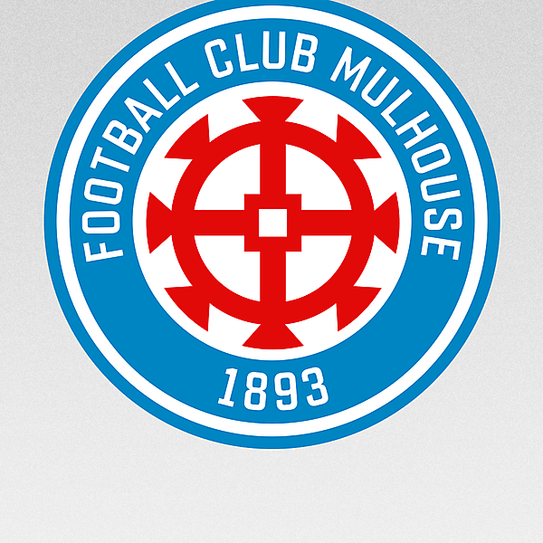 FC Mulhouse - crest redesign