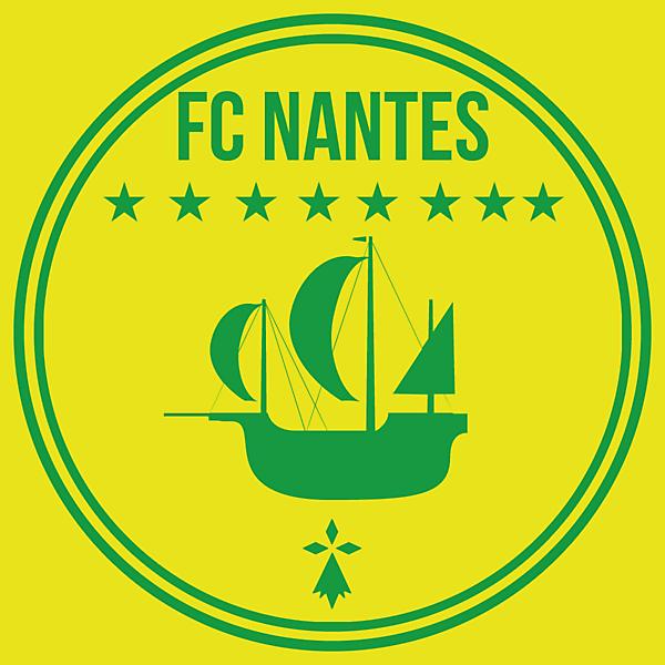 FC Nantes Logo Redesign