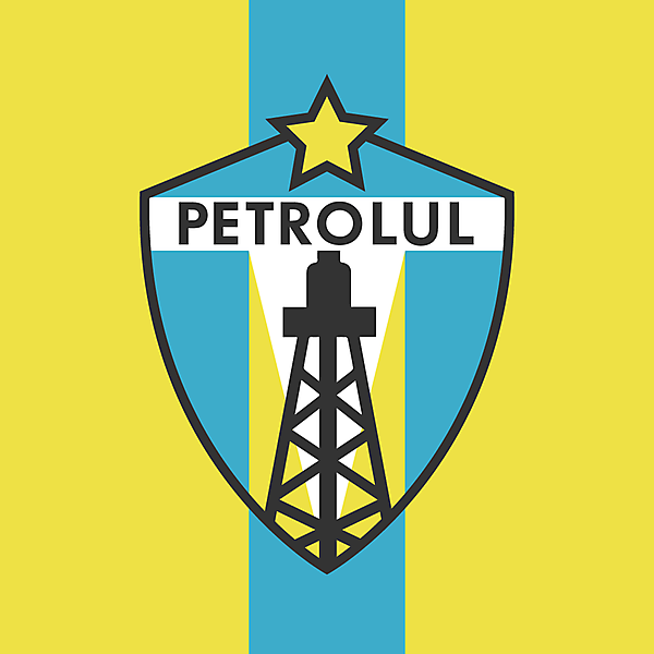 FC Petrolul Ploiești Crest Redesign