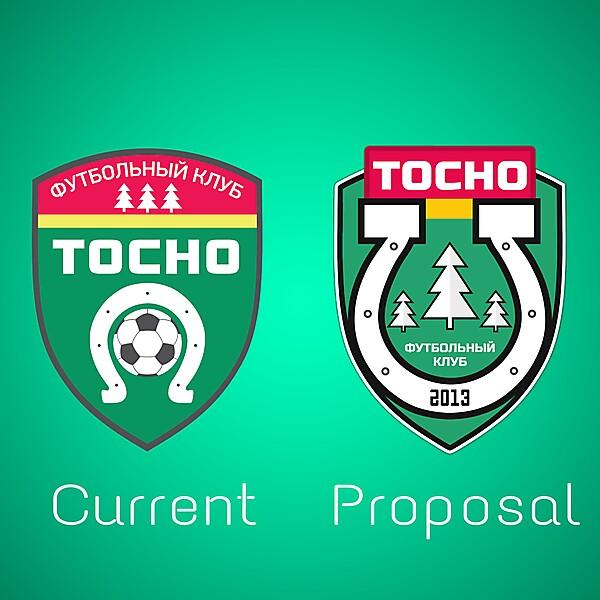 FC TOSNO Crest