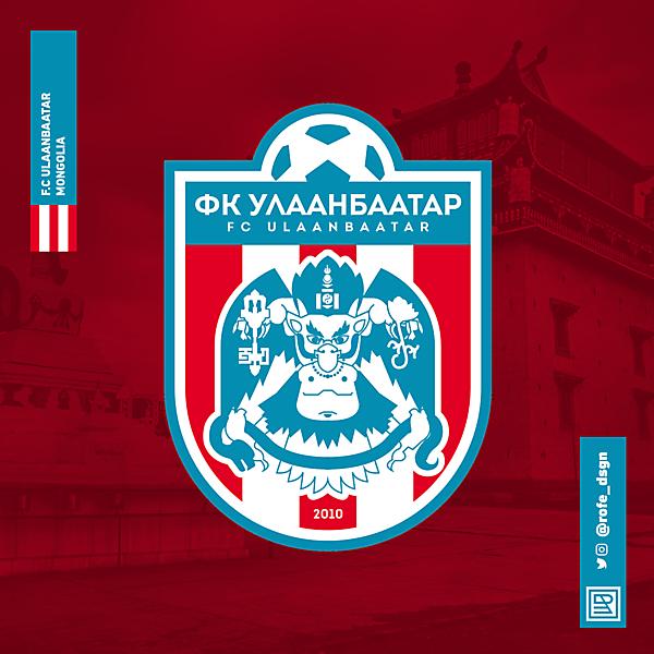 F.C. Ulaanbaatar Rebranding By @rofe_dsgn.