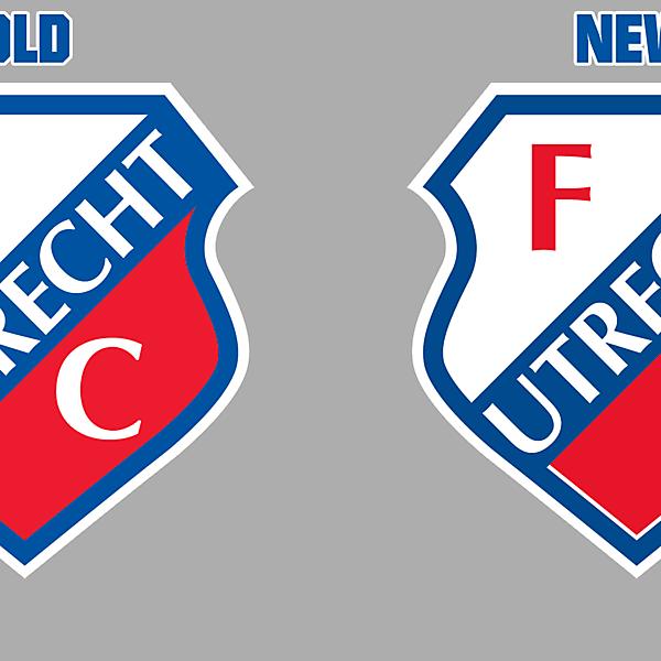 FC Utrecht New Logo